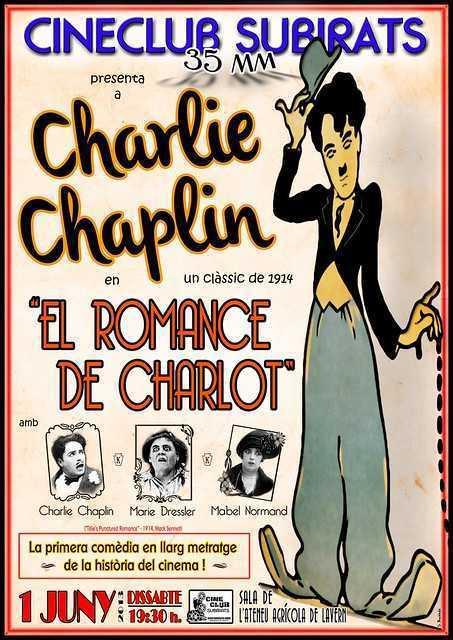 El Romance de Charlot al Cinema Ateneu de Lavern